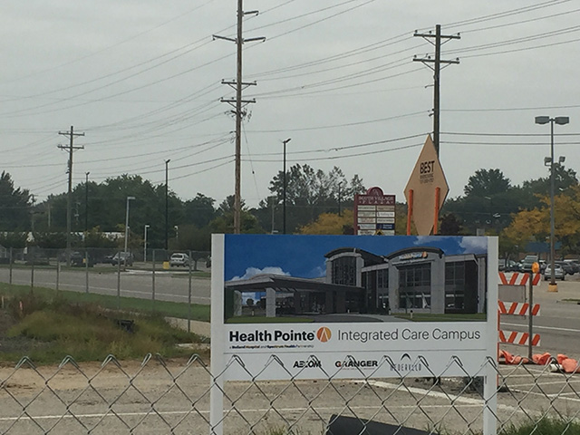 Health Pointe Construction Milestones